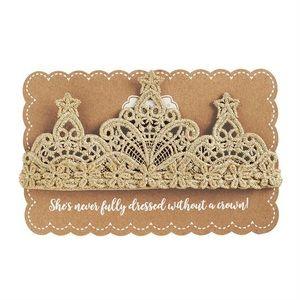 Lace Crochet Crown Headband